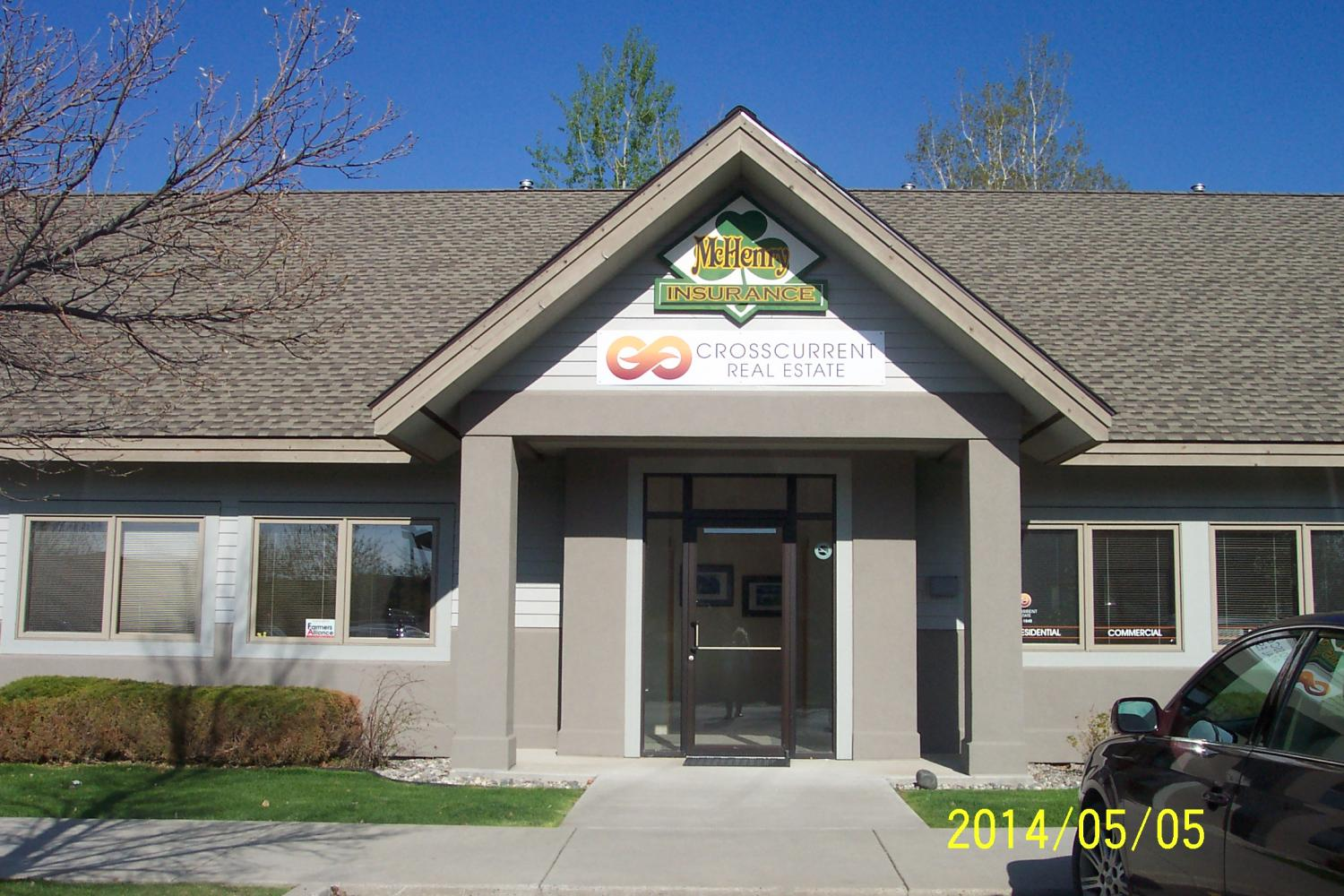 Front view of our office McHenry Insurance